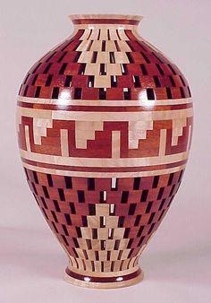 Open Segment Vase 723