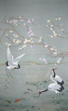 Image result for chinese silk chinoiserie wallpaper