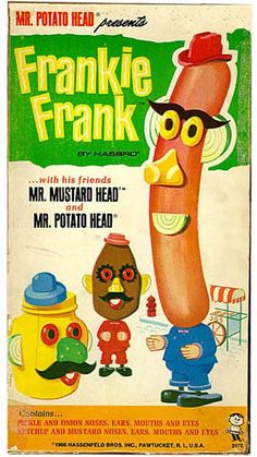 Frankie Frank vintage kids toy hotdogs. Learn about your collectibles, antiques, valuables, and vintage items from licensed appraisers, auctioneers, and experts at BlueVault. Visit:  http://www.bluevaultsecure.com/roadshow-events.php