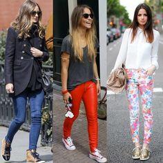 looks com calça jeans e tenis - Pesquisa Google