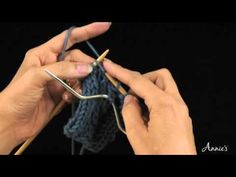 Learn how to knit cables with this free video from AnniesCatalog.com.
