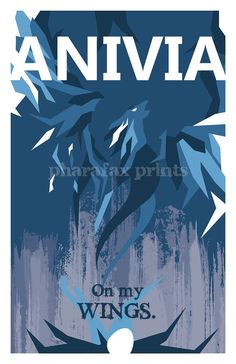 Anivia: League of Legends Print by pharafax on Etsy