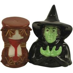 3.5 Inch Wizard Of Oz Wicked Witch And Hour Glass Salt And Pepper Pot by StealStreet. $14.95. This gorgeous 3.5 Inch Wizard Of Oz Wicked Witch And Hour Glass Salt And Pepper Pot has the finest details and highest quality you will find anywhere! 3.5 Inch Wizard Of Oz Wicked Witch And Hour Glass Salt And Pepper Pot is truly remarkable.3.5 Inch Wizard Of Oz Wicked Witch And Hour Glass Salt And Pepper Pot Details:Condition: Brand NewItem SKU: SS-WL-17237Dimensions: H: 3.5 (Inches)Cr...