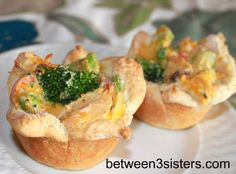 Cheesy Chicken Pot Pie Cups – Between3Sisters