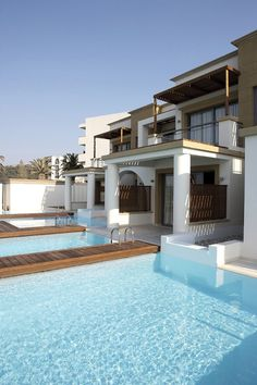 Beach front Grand Suite Private Pool, Hotels And Resorts, Greece, Mansions, Luxury, Ixia Rhodes, House Styles, Beach, Home