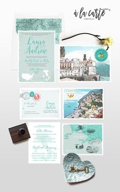 best destination weddings Places To Get Married Italian Wedding Invitations, Illustrated Wedding Invitations, Destination Wedding Invitations, Wedding Invitation Sets, Wedding Stationery, Invitation Cards, Invitation Ideas, Destination Weddings, Save The Date Postcards