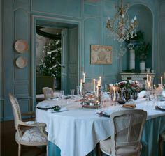 Sala  da  pranzo  in  stile  gustaviano