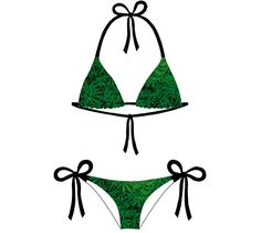 Weed Bikini – Smooooth clothing