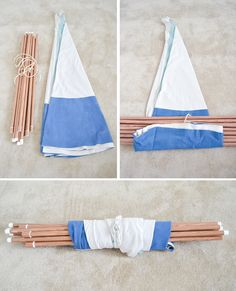 DIY No-Sew Teepee                                                                                                                                                                                 More