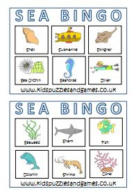 Under The Sea - Kids Puzzles and Games