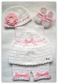 Conjunto elaborado por Roraima Crochet