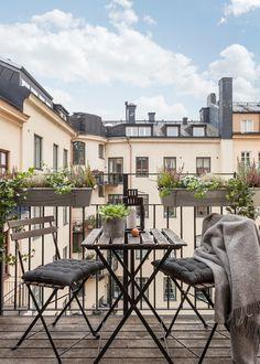 Scandinavian Balcony by Happicovers Homestyling