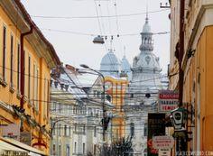 Cluj-Napoca, Romênia Street View, Hungary, Traveling, Norte