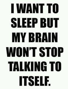 Insomnia. Yay.