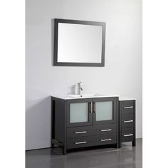 "Found it at Wayfair - 48"" Single Bathroom Vanity Set with Mirror"