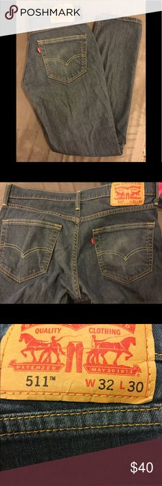 Men's LEVIS 511. 32 x 30 Men's Levis jeans Very gently used Levi's Jeans Straight