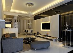 Read all you need to know about living room minimalist. Get inspired simple living room design, modern small living room, Minimalist interior design. Best Living Room Design, Simple Living Room, Small Living Rooms, Living Room Modern, Living Room Designs, Living Room Decor, Living Area, False Ceiling Living Room, Bedroom False Ceiling Design