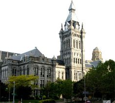 Erie County Hall  Where President McKinley lay in state.