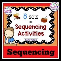 This is a fun sequencing set for your students! Use it for sequencing only or take it to the next level and use each sequencing set as graphic organizers for beginning paragraph writing.