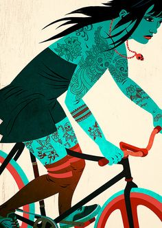 Bicycles & Tattoos (3)  by Matthew James Taylor