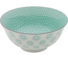Müslischale aus Porzellan in verschiedenen Motiven erhältlich. D/H: ca. 15,5/7cm.