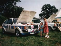 Dan & Clare at the Avenger & Sunbeam Owners Club National Day - Many years ago :-)