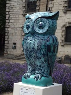Bejewelled Owl at St Paul's Hockley In the Jewellery Quarter Birmingham raised 9,200 pounds at the auction
