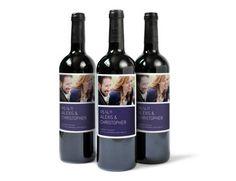wedding wine bottle labels