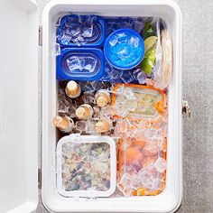 Learn how to stock a cooler with our quick and easy tips here: http://www.bhg.com/recipes/party/party-ideas/tailgating-menu-ideas/?socsrc=bhgpin110414stockacooler&page=1