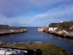 Ballintoy Harbour, Northern Ireland. Used as a location for the Iron Islands in the HBO series Game of Thrones
