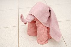 How to Fold a Towel Elephant: 15 steps (with pictures) - wikiHow