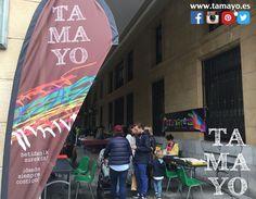 Os dejamos en nuestro facebook unas cuantas fotos del ambientazo (pese a la lluvia) en el stand de #Tamayopapeleria esta pasado Sábado en su stand dentro del arte topaketak 2017 en la plaza de Gipuzkoa #Donostia #SanSebastian La verdad es que lo pasamos genial.