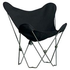 Outdoor Algoma Classic Butterfly Chair-Ebony - 4053-57