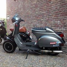 #Vespa #px #Scootering #Scooterist #streetracer #bitubo #scooterandservice #piaggio