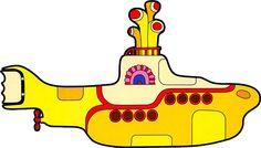 "The Beatles ""Yellow Submarine"" Sticker"