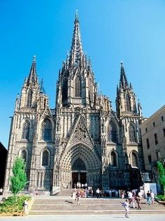Cathedral - Barcelona - built by my 30th GGrandparents Ramon Berenguer and his wife Almodis.