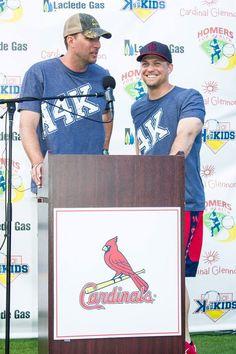 Adam Wainwright and Trevor Rosenthal K's 4 Kids 2015