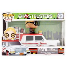 Pop! Rides 23 Ghostbusters Ecto-1 Vinyl Figure, Age 14+, Multicolor