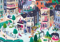 Overall City on Behance