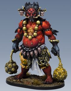 Painted Oni of Blood.