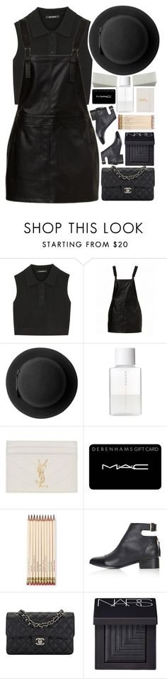 """""""Friday Session"""" by igedesubawa ❤ liked on Polyvore featuring Neil Barrett, Monki, SUQQU, Yves Saint Laurent, MAC Cosmetics, Kate Spade, Topshop, Chanel and NARS Cosmetics"""