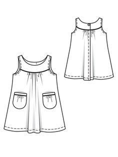 Baby Girl Dress Patterns, Baby Clothes Patterns, Doll Dress Patterns, Baby Girl Dresses, Baby Dress, Girls Frock Design, Kids Frocks Design, Boho Baby Clothes, Girl Doll Clothes