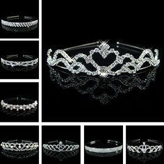 20 Styles Bride Corona Romantic Pearl Pageant Princess King Crown For Diadem Rhinestones Hair Accessories Tiaras And Crowns N046