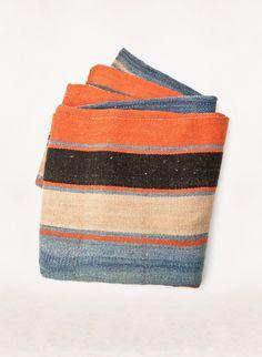 """vintage """"chimoré"""" bolivian blanket"""