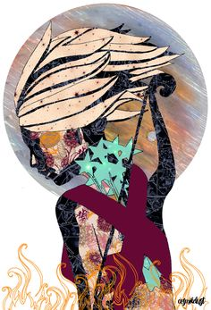 Sagittarius (zodiac series 1) Art Print