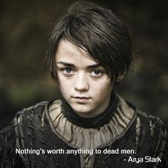 Arya Stark's fierce quotes in GoT season 5 will keep you hooked to the show.