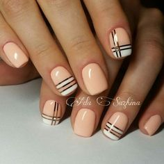 Stunning Striped Nails Art Ideas for Prom ❀ - Diaror Diary - Page 48 ♥ 𝕴𝖋 𝖀 𝕷𝖎𝖐𝖊, 𝕱𝖔𝖑𝖑𝖔𝖜 𝖀𝖘!♥ ♡*♥ ♥ ♥ ♥ ♥ ♥ ♥ ♥ ♥ ♥ ♥ ღ♥Hope you like this collection about striped nails! ღ♡*♥ 𝖘𝖙𝖚𝖓𝖓𝖎𝖓𝖌 𝖘𝖙𝖗𝖎𝖕𝖊𝖉 𝖓𝖆𝖎𝖑𝖘 𝖉𝖊𝖘𝖎𝖌𝖓 ♡*♥ ღ Nail Art Design Gallery, Gel Nail Art Designs, Fingernail Designs, Design Art, Nails Design, Nail Art Stripes, Striped Nails, Short Nail Manicure, Diy Nails