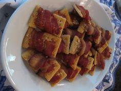 Parmesan Bacon Wraps