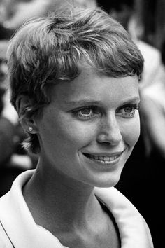 This Is The Timeless Haircut Trend We Need Forever #refinery29  http://www.refinery29.com/2016/08/119268/best-fringe-hairstyle-photos#slide-7  Mia FarrowThere's a reason Farrow in Rosemary's Baby is still the reference point for the pixie cut — it was unapologetically short, and the fringe was choppy perfection. Win-win. ...