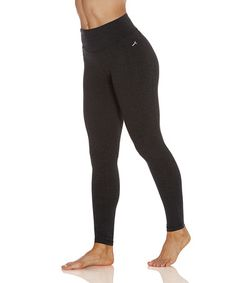 Another great find on #zulily! Heather Charcoal Ultimate Slimming Leggings #zulilyfinds